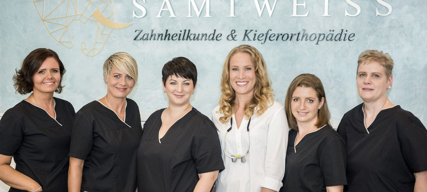 Praxisteam Samtweiss, Zahnheilkunde und Kieferorthopädie, Geretsried, Bayern